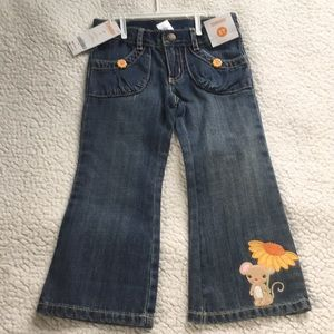 Gymboree sunflower 🌻 smiles jeans 3T